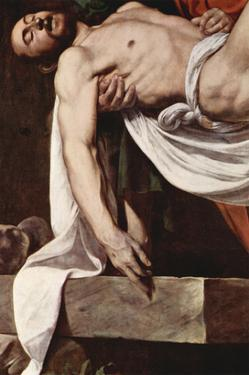 Putting Christ in the Tomb by Caravaggio