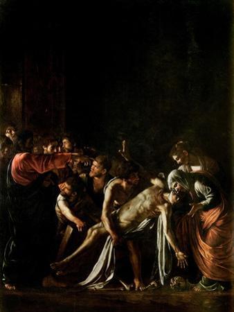 Resurrection of Lazarus by Caravaggio