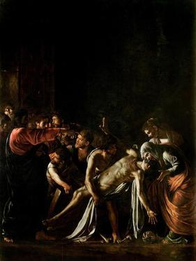 Resurrection of Lazarus by Caravaggio