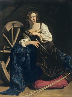 Saint Catherine of Alexandria, C. 1598 by Caravaggio
