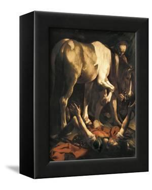 Saint Paul's Conversion by Caravaggio