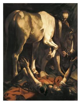 Saint Paul's Conversion by Caravaggio