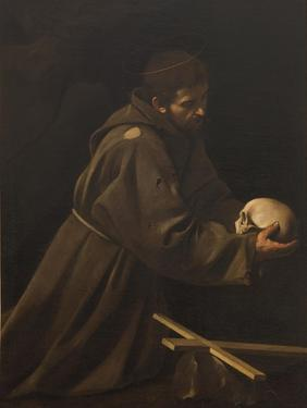 St. Francis in Meditation by Caravaggio