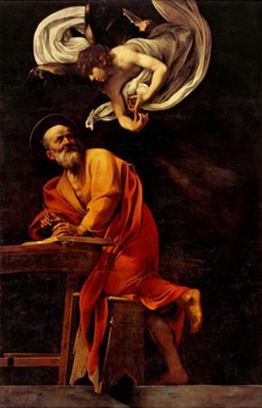St. Matthew and the Angel by Caravaggio