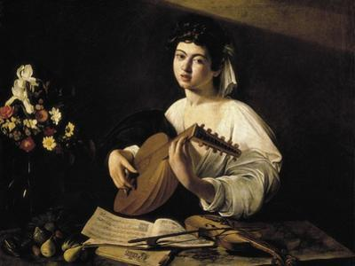 The Lute-Player by Caravaggio