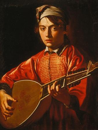 The Lute Player by Caravaggio