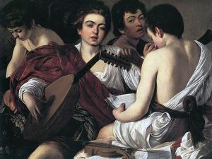 The Musicians, C1595 by Caravaggio