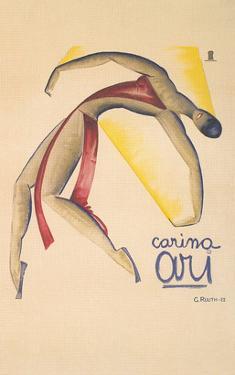Carina Ari Modern Dance Poster