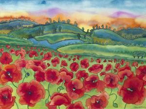 Magical Poppy Field by Carissa Luminess