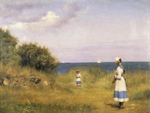 Fra Hellebaek, 1884 by Carl Bloch