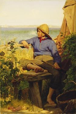 The Sailor, 1874 by Carl Bloch