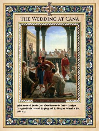 The Wedding at Cana: Turning Water into Wine