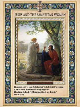 Woman at the Well: Jesus and the Samaritan Woman by Carl Bloch