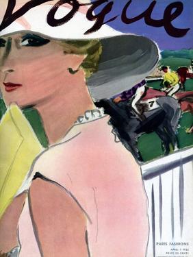 "Vogue Cover - April 1933 by Carl ""Eric"" Erickson"