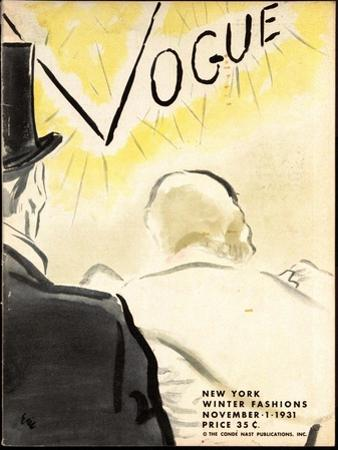 Vogue Cover - November 1931