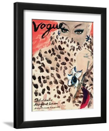 """Vogue Cover - November 1939 by Carl """"Eric"""" Erickson"""
