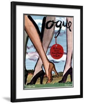 "Vogue Cover - October 1941 by Carl ""Eric"" Erickson"