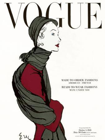 Vogue Cover - October 1948