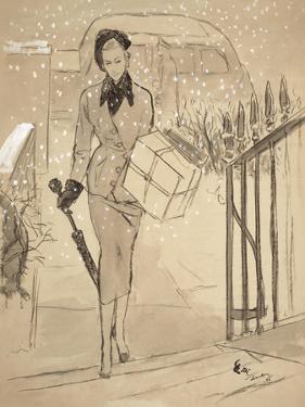 "Vogue - December 1948 by Carl ""Eric"" Erickson"