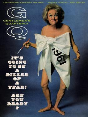 GQ Cover - December 1966 by Carl Fischer