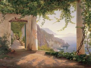 Amalfi Cappuccini by Carl Frederic Aagaard