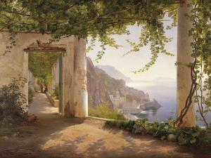 Amalfi Dia Cappuccini by Carl Frederic Aagaard