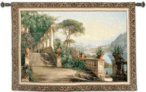 Lodge at Lake Como by Carl Frederic Aagaard