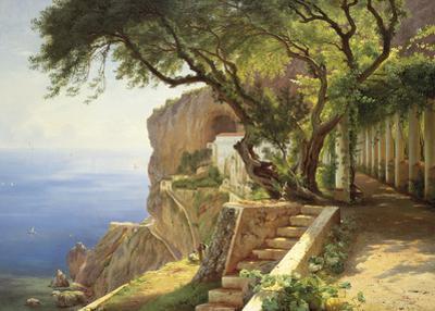 Pergola in Amalfi by Carl Frederic Aagaard