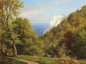 Summer Day At Moens Klint, Denmark by Carl Frederic Aagaard