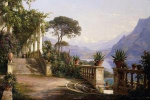 Loggia Fra Como, 1880 by Carl Frederick Aagaard