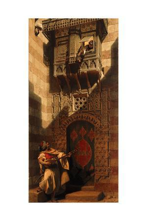 A Serenade in Cairo; Eine Serenata in Cairo, 1893