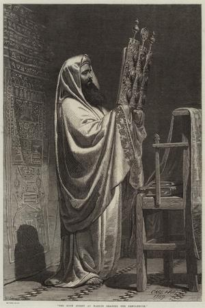 The High Priest at Nablus Reading the Pentateuch