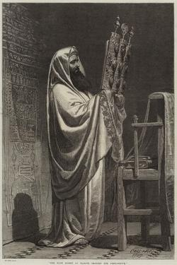The High Priest at Nablus Reading the Pentateuch by Carl Haag