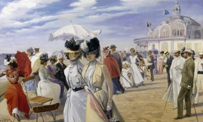 A Stroll at the Seaside, Ostend