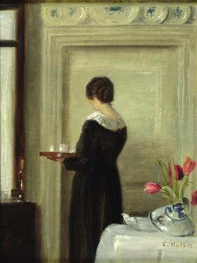 Afternoon Tea by Carl Holsoe