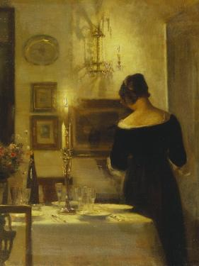 In the Dining Room by Carl Holsoe