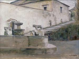 The Fountain, Italy by Carl Holsoe