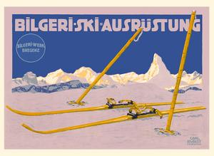 Bilgeri Ski Equipment (Bilgeri Ski Ausrüstung) - Bregenz, Austria by Carl Kunst