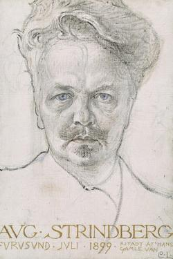 August Strindberg, 1899 by Carl Larsson