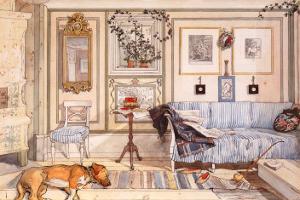 Cozy Corner by Carl Larsson