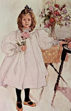 Gladys, 1895 by Carl Larsson