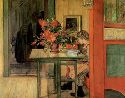 Lisbeth Reading, 1904 by Carl Larsson