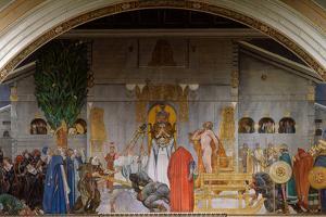 Midvinterblot (Midwinter Sacrific), 1914-1915 by Carl Larsson