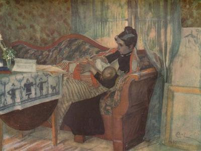 'Mother and Child', c1900. by Carl Larsson