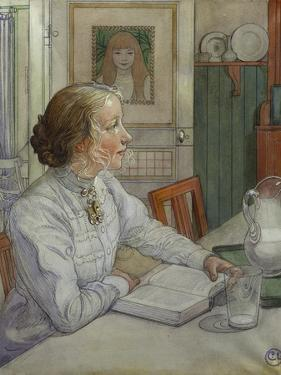 My Eldest Daughter, 1904 by Carl Larsson