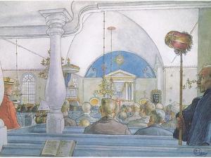 Our Church at Sundborn by Carl Larsson