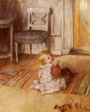 Pontus, 1890 by Carl Larsson