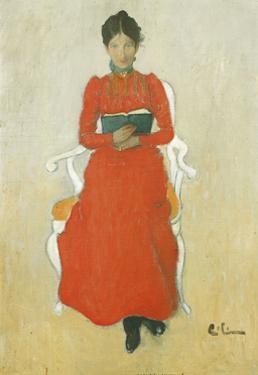 Portrait of Dora Lamm by Carl Larsson