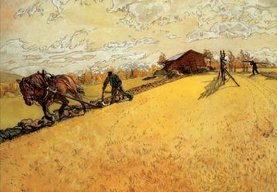 The Farmer, 1906 by Carl Larsson
