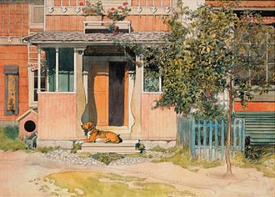The Veranda by Carl Larsson